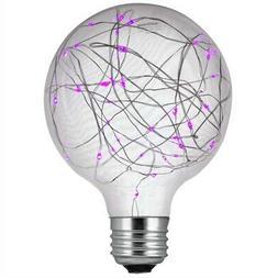 Sunlite 1.5w Purple G30 Decorative LED Bulb - 100-260v E26 M