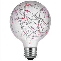 Sunlite 1.5w Red G30 Decorative LED Bulb - 100-260v E26 Medi