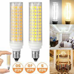 4/2pcs E11 Mini Base LED bulb 136 Led Ceramics Ceiling fan L