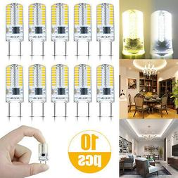 10/20pcs G8 LED Light Bulb Lamp 64 3014 Kitchen Cabinet Ligh
