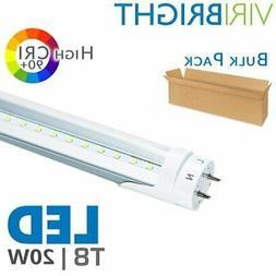 10-50 PACK LED G13 4FT 4 Foot T8 Tube Light Bulbs 18W 6000K