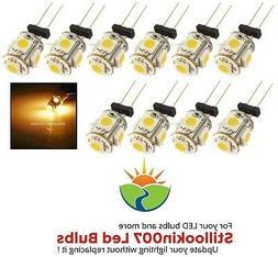 10 - G4 Low Voltage Landscape Light LED conversion 5 Warm Wh