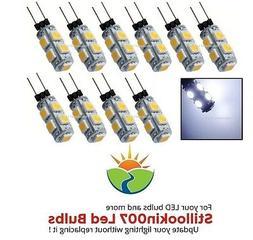 10 - G4 Low Voltage Landscape Light LED conversion 9 Cool Wh