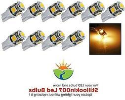 10 - Low Voltage Landscape T5 LED bulbs WARM WHITE 5LED's pe