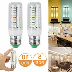10 Pack LED E27 Warm/Daylight White LED Corn Bulb Lamp Light