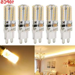 10 Pack LED G9 Warm/Daylight White LED Corn Bulb Lamp Light