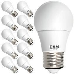 Sunco Lighting 10 PK A15 Dimmable LED Bulb, 8W=60W, 5000k Da