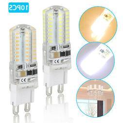 10 x LED G9 Warm/Daylight White LED Corn Bulb Lamp Light 120
