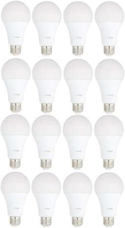 AmazonBasics 100 Watt Equivalent, Daylight, Dimmable, A21 LE