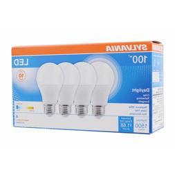 Sylvania 100W Equivalent LED A19 Light Bulb, 4 pk. - Dayligh