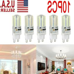 10Pack G9 LED Warm/Daylight White LED Corn Bulb Lamp Light 1