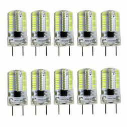 10pcs 35mm G8 Base LED Bulb 64 3014 SMD Cabinet Lighting Whi