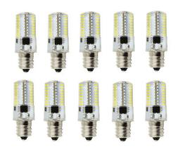 10pcs e12 candelabra led light bulb c7