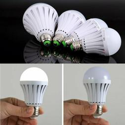 10pcs E27 Emergency LED Light Bulb Rechargeable Intelligent