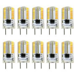 10pcs G8 Bi-Pin T5 64 3014 LED Light Bulb Dimmable Crystal L