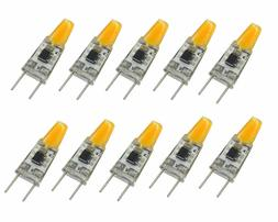 10pcs G8 Bulb T3 Flat Puck light COB 1505 LED Cabinet Light