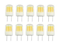 10pcs G8 G8.5 LED Bulb Flat COB 1511 Ceramics Lamp 110V 120V