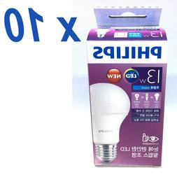 10PCS Philips LED 13W 1400Lm Light Lighting Bulb Bulbs Globe