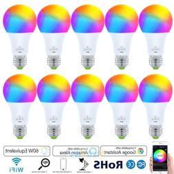 10pcs wifi smart light led bulb bulbs