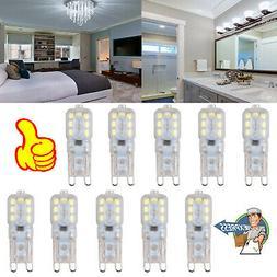 10X G4 24 LED SMD Warm White Capsule Bulb 12V 3014 SMD Repla