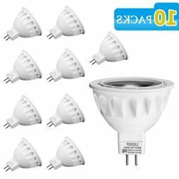 10X LESHP MR16 LED 4000K 7 Watt = 50W 12V Bright White Light