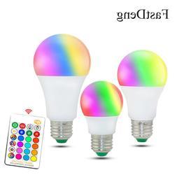 110V 220V E27 RGB <font><b>LED</b></font> <font><b>Bulb</b><