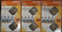 SYLVANIA *12 Bulbs* TOTAL T40-WATT LED SOFT WHITE 3-4 PACKS