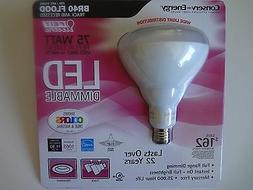 12 LED Bulbs BR40 Feit Electric Conserv Energy 16W=75W Dimma