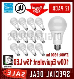 12 led light bulbs 15w 1600 lumens