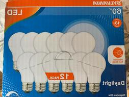 NEW Sylvania 60w LED A19 Light Bulbs Daylight Indoor/ Outdo