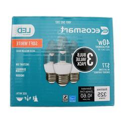 Eco Smart 40W Equivalent Soft White B11 Clear Decorative LED