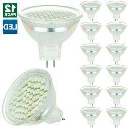 12 Pack Sunlite LED MR16, 2.2 Watt, 120 Volt, GU5.3 Base Bul