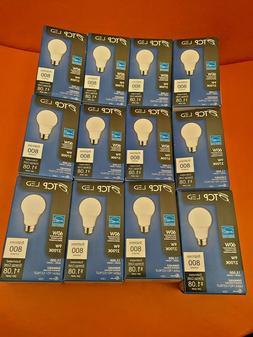 12 X TCP LED 60W Dimmable Light Bulb 9W 2700K Brightness 800