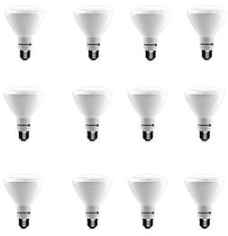 EcoSmart 65-Watt Equivalent BR30 Dimmable LED Light Bulb, B