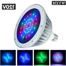 120V Color Change Swimming Pool Light LED PAR56 E27 direct r