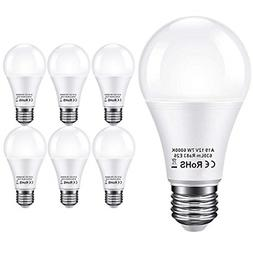Bayshe 12V LED Light Bulb 60Watt Equivalen E26 7W 630Lm 12 V