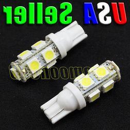 12V Low Voltage T10 T5 Wedge Base Cool White LED Malibu Repl