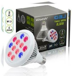 12W LED Grow Light Bulb by Vemotix- Plant E26 - Bulbs for In
