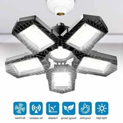 150W LED Garage Light Deformable Shop Ceiling Fixture Lamp E
