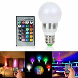 16 color changing magic light e27 3w