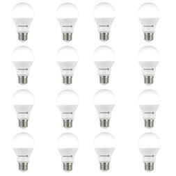 16 Pack Light Bulbs LED 60 Watt Equivalent A19 5000K Non Dim