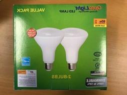 18  BR30 LED Flood Light Bulbs DIMMABLE 9w = 65w 2700k LASTS