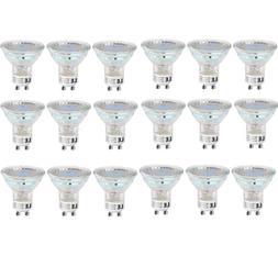 18 Pack GU10 LED Bulb 2700K Warm White Light Bulbs 50W Equiv