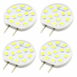 4X 2.5W Dimmable G8 Bi-pin Base LED Light Bulb 120V for Unde