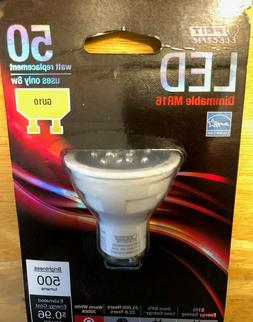 2 Feit LED GU10 MR16 Dimmable 8 Watt No. BPMR16/GU10/500/LED