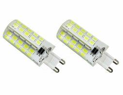 CTKcom 2-Pack 4W G9 LED Light Bulb Dimmable,110V Silicone Co