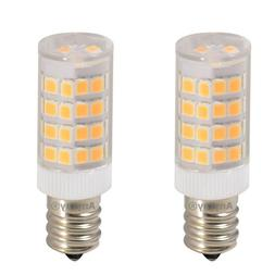 2-Pack S6 120V LED Night Light bulb  E12 Candelabra Warm Whi