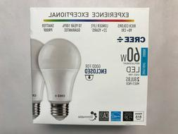 2 PACK CREE LED 60W = 10W Daylight DIMMABLE 60 Watt Equivale