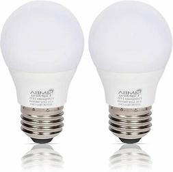 LED A15 Refrigerator 5W 120V 40W Equivalent Bulbs E26 5000K