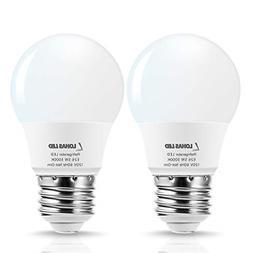 LOHAS LED Refrigerator Light Bulb, 40W Equivalent 120V A15 L